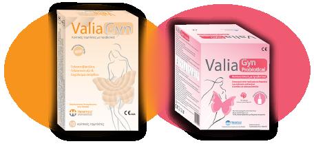 Valiagyn - Προϊόντα