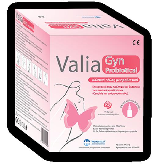 Valiagyn - Κολπικές πλύσεις με προβιοτικά